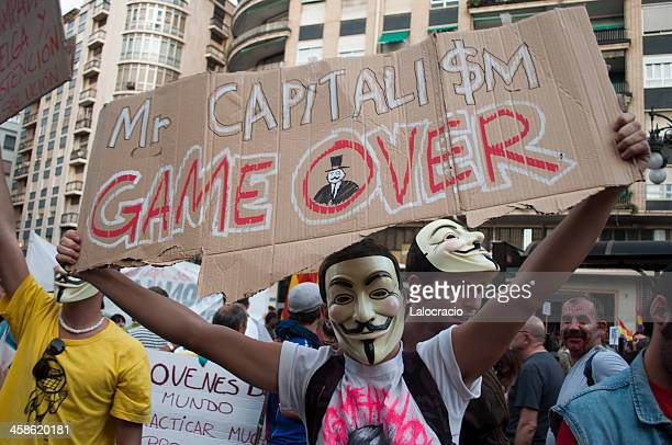 Mr. Capitalism game over