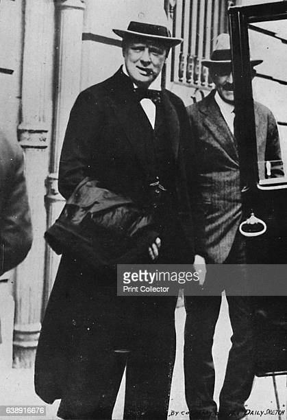Mr Churchill went to the Peace Conference in Paris' Mr Churchill attended the Paris Peace Conference to press Allied leaders for a decision on...