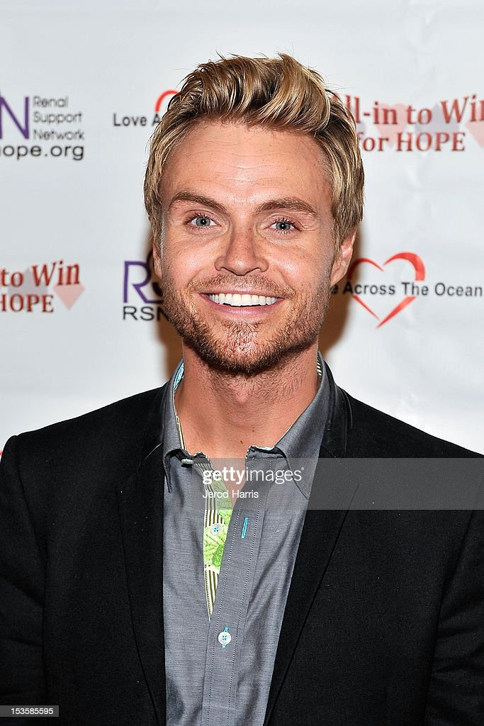 Mr. Denmark Kristian Greiff arrives at 'In To Win For Hope' No Limit Texas Hold'em Celebrity Charity Poker Tournament at Commerce Casino on October 6, 2012 in City of Commerce, California.