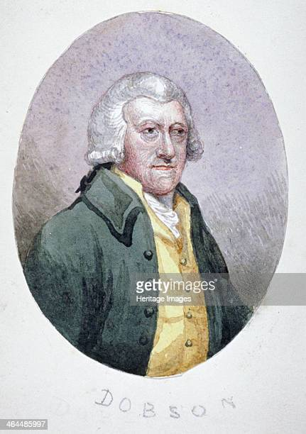 Mr Dobson a tradesman of Fleet Street wearing a wig coat and waistcoat c1780