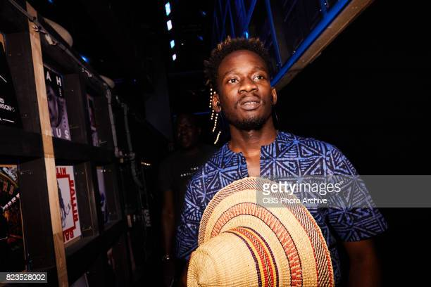 Mr Eazi performs during 'The Late Late Show with James Corden' Wednesday July 26 2017 On The CBS Television Network