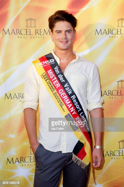 Mr Germany 2017 Dominik Bruntner attends the Remus Lifestyle Night on August 3 2017 in Palma de Mallorca Spain