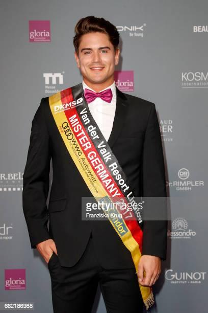 Mr Germany Dominik Bruntner attends the Gloria Deutsche Kosmetikpreis at Hilton Hotel on March 31 2017 in Duesseldorf Germany