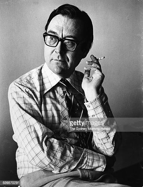 Mr Graham Freudenberg former chief speechwriter for the former Prime Minister Mr EG Whitlam 8 January 1976 SMH Picture by GREG LEE