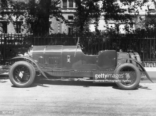 Mr Heitner's opentop Bentley sports car