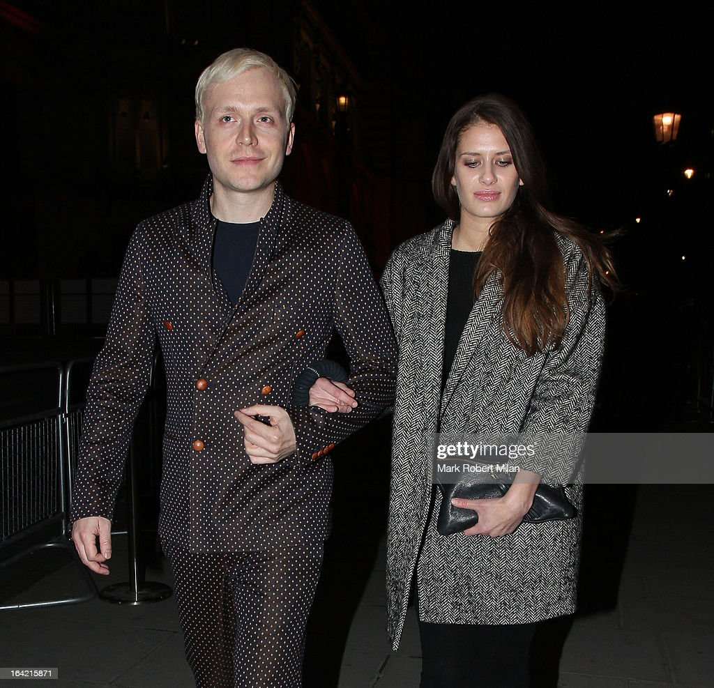 Mr Hudson at the private view of 'David Bowie Is' at Victoria & Albert Museum on March 20, 2013 in London, England.