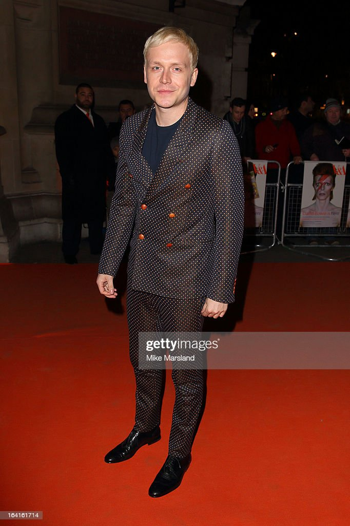 Mr Hudson attends the private view of 'David Bowie Is' at Victoria & Albert Museum on March 20, 2013 in London, England.
