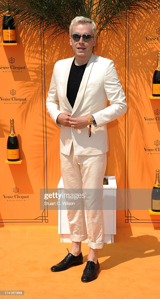 Mr Hudson attends the Veuve Clicquot Gold Cup final at Cowdray Park Polo Club on July 21, 2013 in Midhurst, England.