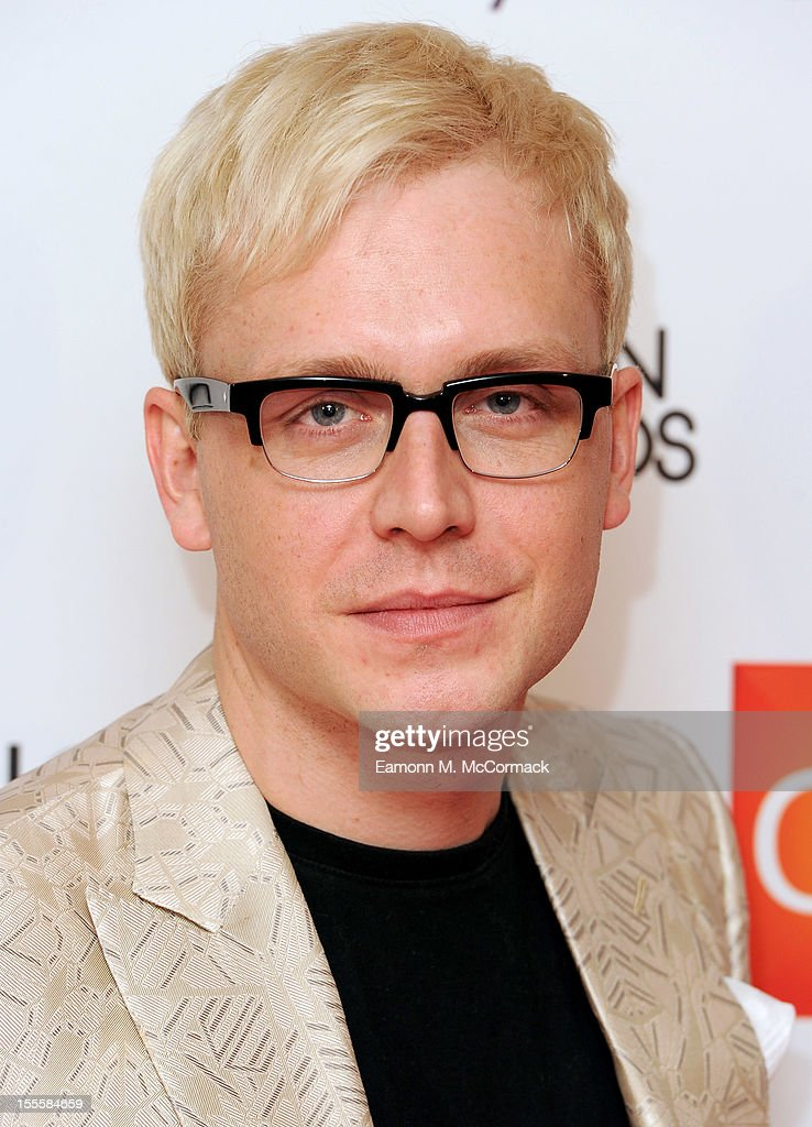 Mr Hudson attends the WGSN Global Fashion Awards at The Savoy Hotel on November 5, 2012 in London, England.