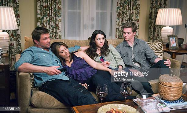ROUGHNESS 'Mr Irrelevant' Episode 205 Pictured Marc Blucas as Matthew Donnally Callie Thorne as Dani Santino Hannah Marks as Lindsay Santino Patrick...