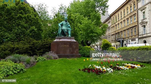 Mór Jókai Statue (Budapest, Hungary)