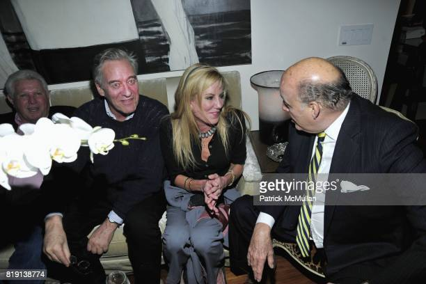 Mr King David Niven Jr Beatrice Reed and Reinaldo Herrera attend ALEX HITZ Party at Private Residence on March 6 2010 in Hollywood California