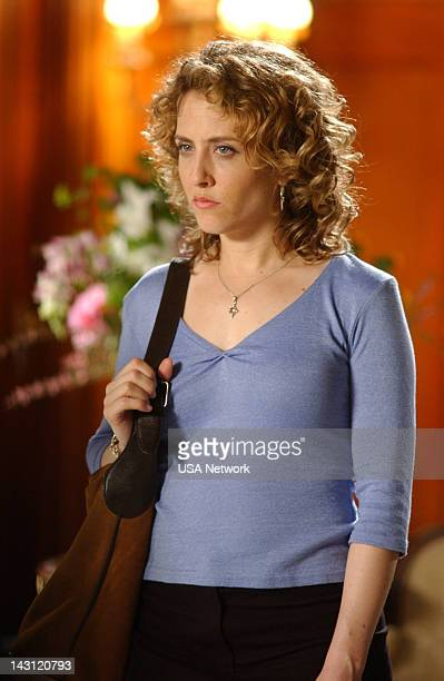 MONK 'Mr Monk Meets Dale the Whale' Episode 4 Pictured Bitty Schram as Sharona Fleming