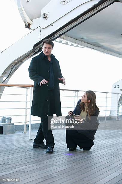 CASTLE 'Mr Mrs Castle' Castle and Beckett investigate the murder of a cruise ship entertainer only to find themselves trapped at sea with the killer...