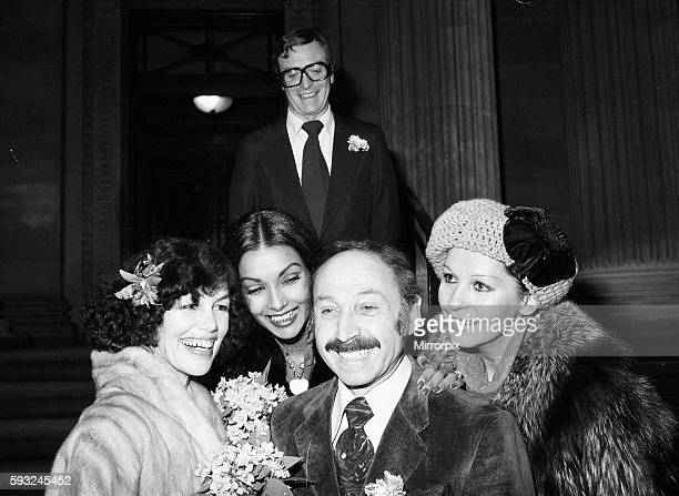 Mr Pam was host to Michael and Shakira when they married in Las Vegas in 1973 Pictured outside the registry office after the ceremony are Michael...