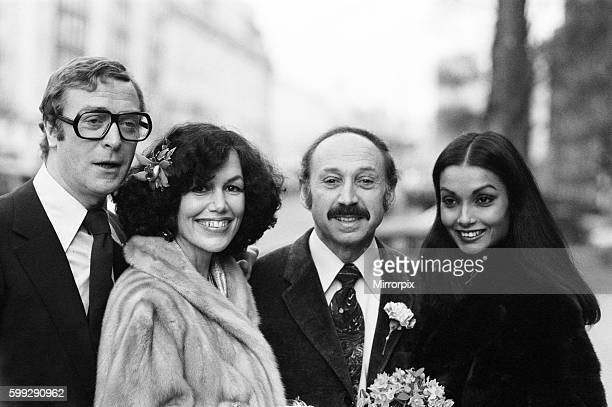 Mr Pam was host to Michael and Shakira when they married in Las Vegas in 1973 Pictured outside the registry office after the ceremony are left to...