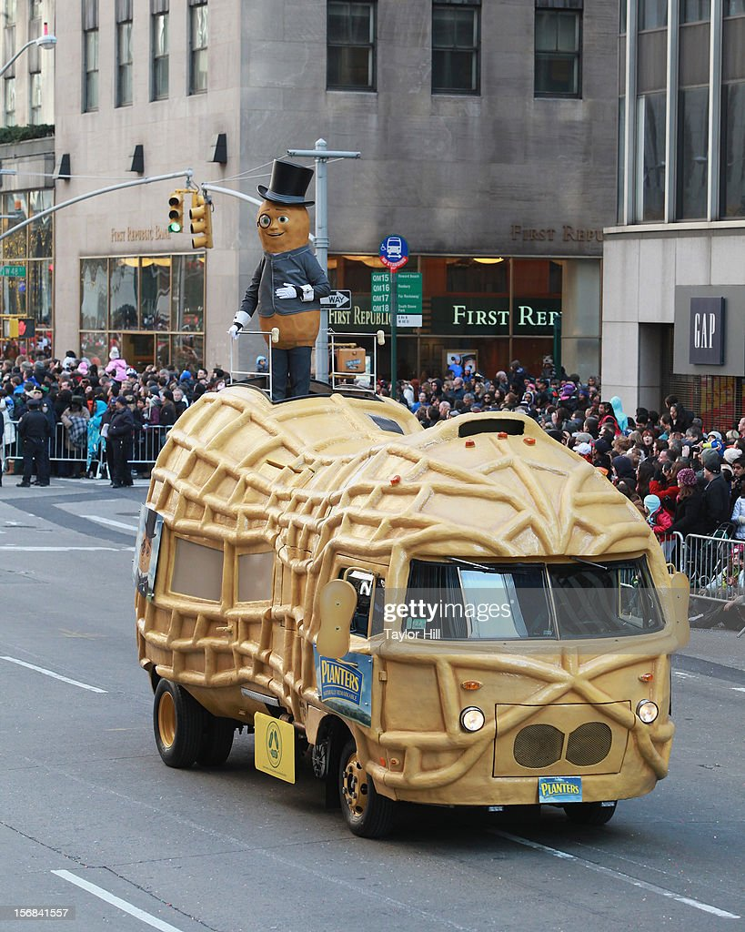 Mr. Peanut attends the 86th Annual Macy's Thanksgiving Day Parade on November 22, 2012 in New York City.