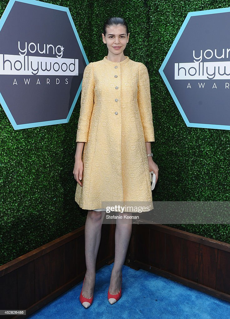 Mr. Pink executive Monica Gabor attend the 2014 Young Hollywood Awards brought to you by Samsung Galaxy at The Wiltern on July 27, 2014 in Los Angeles, California.