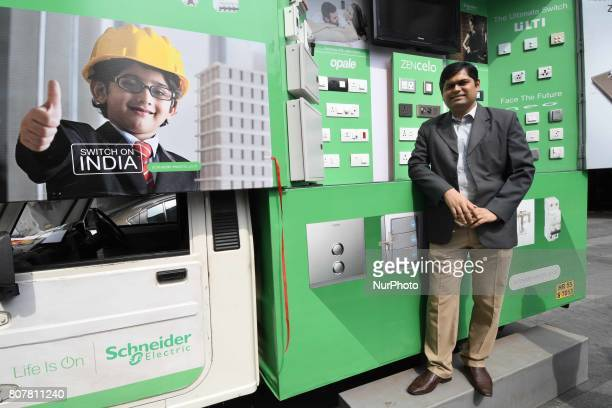 Mr Ramesh JhaRegional Sales HeadEastSchneider Electric India meet the press and lunches Switch on India campaingn in West Bengal and odisha expand...