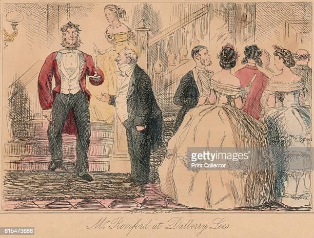 Mr Romford at Dalberry Lees' 1865 From Mr Facey Romford's Hounds by Robert Smith Surtees [Bradbury and Evans London 1865] Artist John Leech