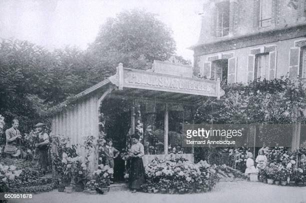 Mr Rossignol served as the florist for novelist Marcel Proust