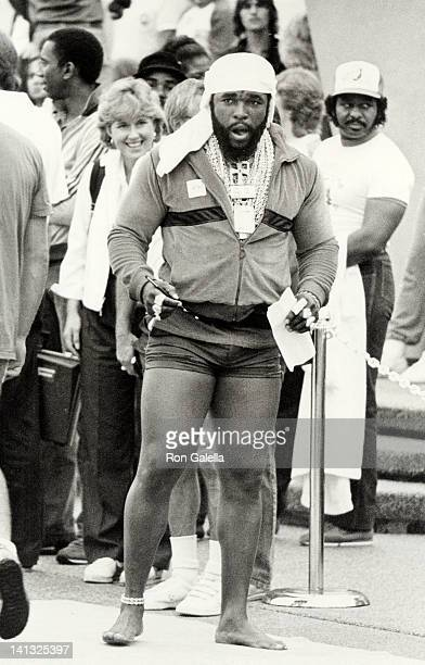 Mr T at the Battle of the Network Stars Pepperdine University Malibu