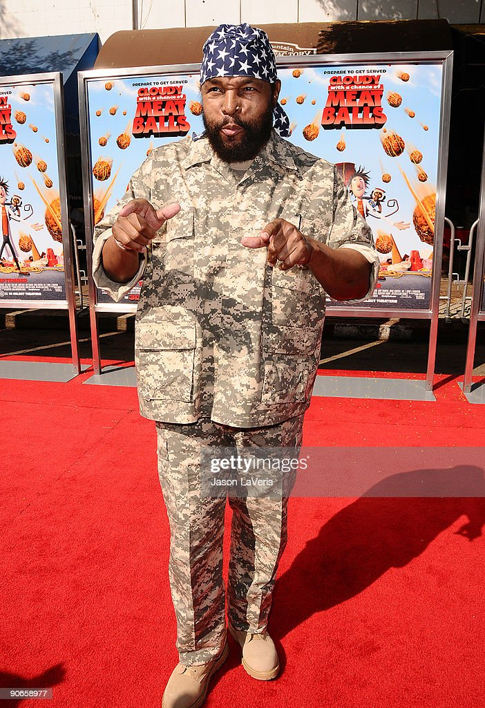 Mr. T attends the premiere of 'Cloudy With A Chance Of Meatballs' at Mann Village Theatre on September 12, 2009 in Westwood, Los Angeles, California.