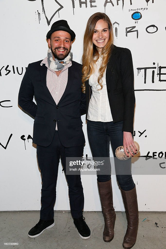 Mr. Tommy (L) and actress Jennifer Missoni attend The Art Of Elysium's 6th Annual Pieces Of Heaven Powered By Ciroc Ultra Premium Vodka at Ace Museum on February 20, 2013 in Los Angeles, California.
