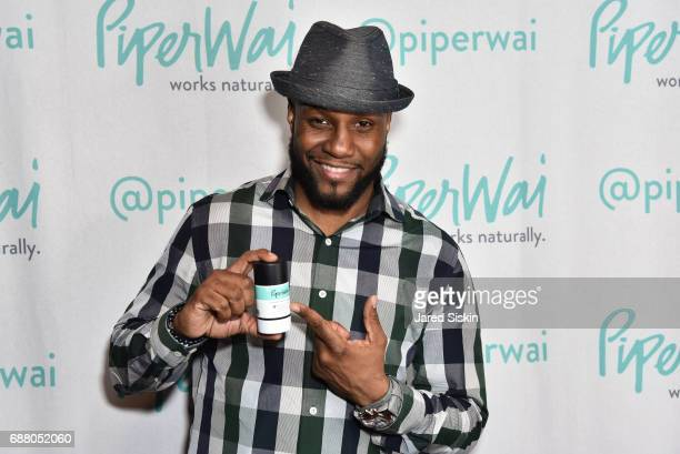 Mr Vocab attends PiperWai NYC Launch Event at Vnyl on May 24 2017 in New York City