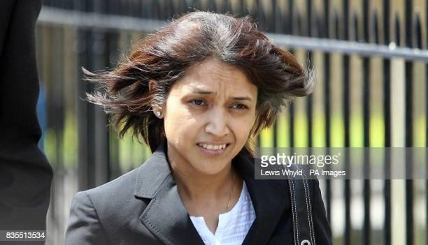 Mrinal Patel arrives at Harrow Magistrates Court west London