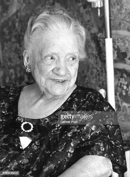 Mrs Alice Roeschlaub Williams smiles as she summons up memories Mrs Alice Roeschlaub Williams was a member of the Denver Flower Mission from which...