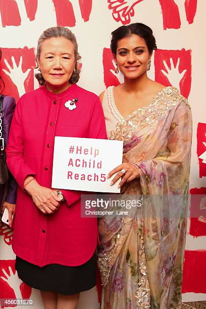 Mrs Ban Soontaek pledged her support for Lifebuoy's Help A Child Reach 5 campaign at Fashion 4 Development's 4th Annual First Ladies LuncheonFashion...