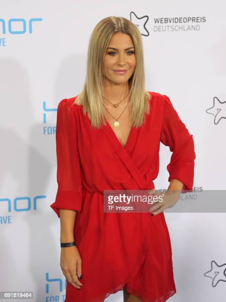 Mrs Bella attends the Webvideopreis Deutschland 2017 at ISS Dome on June 1 2017 in Duesseldorf Germany
