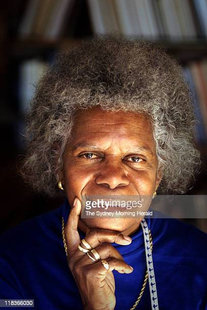 Mrs Bonita Mabo wife of Eddie Mabo in Canberra for the anniversary of the Mabo High court decision to grant native title
