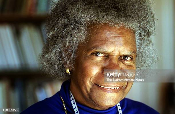 Mrs Bonita Mabo wife of Eddie Mabo in Canberra for the anniversary of the Mabo High court decision