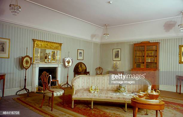 Mrs Fitzherbert's room Royal Pavilion Brighton East Sussex 1960s The Pavilion was originally built in 17861787 by Henry Holland for King George IV...