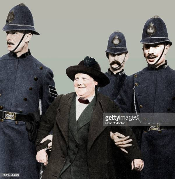 Mrs Flora Drummond arrested in Hyde Park London 'General' Flora Drummond joined the suffragette campaign to obtain the vote for women shortly after...