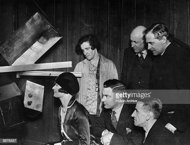 Mrs Howe becomes the first person to have their televised image transmitted between London and New York from the laboratories of the Television...