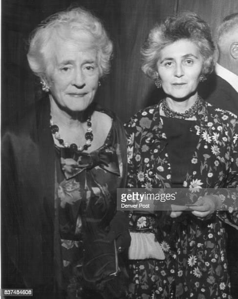 Mrs Imogene Daly Mrs William Flagg Credit Denver Post