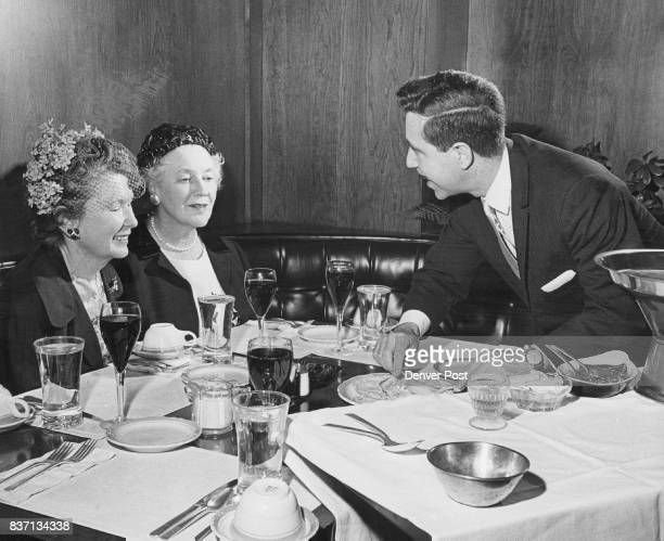 MAY 9 1963 MAU 17 1963 'DOITYOURSELF' GOURMET COOKING DEMONSTRATION PLANNED AT CHERRY HILLS Mrs John B Hayden left and Mrs Kenneth Todd get a sample...