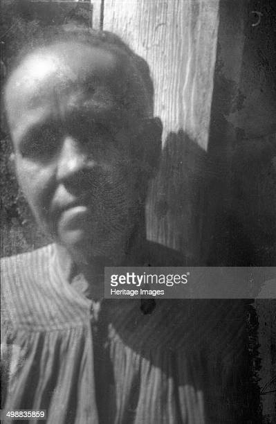 Mrs Lawson Grey Montvale Bedford County Virginia USA 19161918 Photograph taken during Cecil Sharp's folk music collecting expedition British musician...