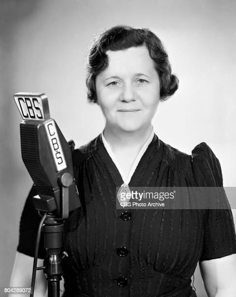 Mrs Leah Aks on the CBS Radio program Robert Ripley's 'Believe It or Not' 27 years after the SS Titanic struck an iceberg on April 14 Mrs Aks...