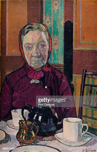 Mrs Mounter at the Breakfast Table' 19167 Painting held in the Tate London From The Studio Volume 99