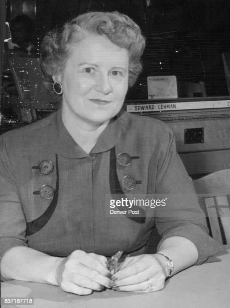 Mrs Ruth B Clark Representative Republican from Ft Collins Credit Denver Post