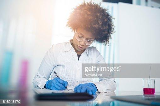 Mrs Science : Stock Photo