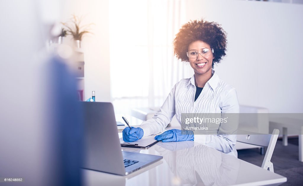 Mrs Science : Foto de stock