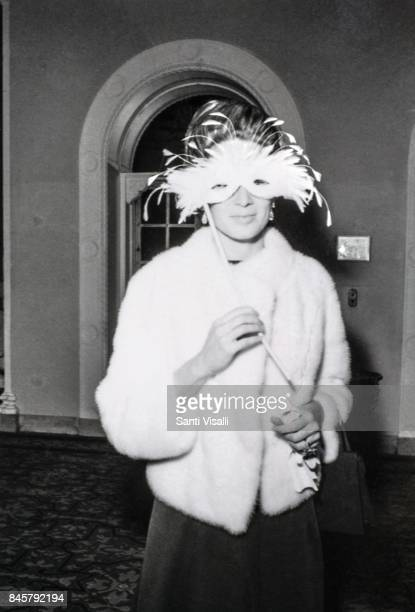 Mrs Stavros Niarchos Charlotte Ford at Truman Capote BW Ball on November 28 1966 in New York New York