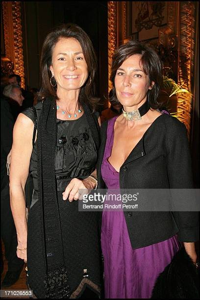 Mrs Thierry Breton and Christine Orban Gala for the 'Dan David' awards ceremony at the Garnier opera with the ballet by Roland Petit 'Proust Ou Les...
