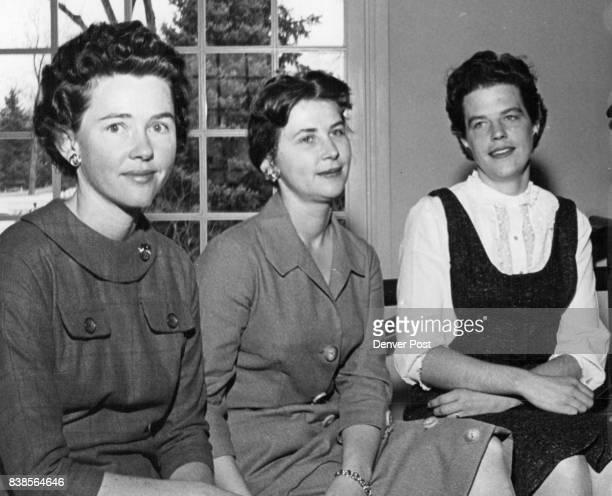 Mrs Thomas P Owen Mrs James F Graham Mrs Lloyd C Steinmann Jr Credit Denver Post