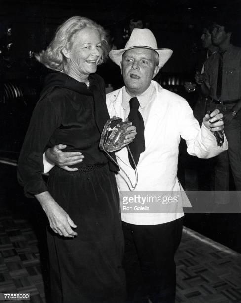 Mrs Winston and Truman Capote